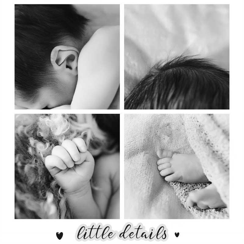 baby newborn photography - piccoli dettagli